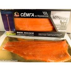 Филе лосося/форели слабосоленое в вакуумной упаковке